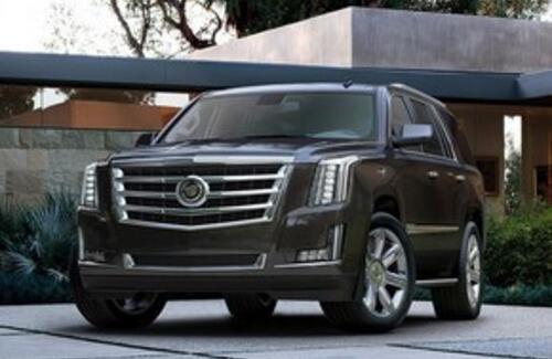 Рассекречен новый Cadillac Escalade