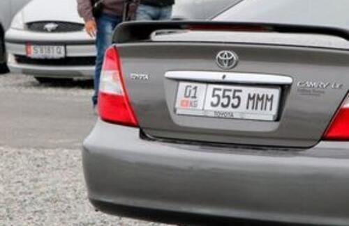 """Для """"иностранных"""" автомашин сделают временную регистрацию"""