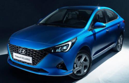 Hyundai показала новый Accent