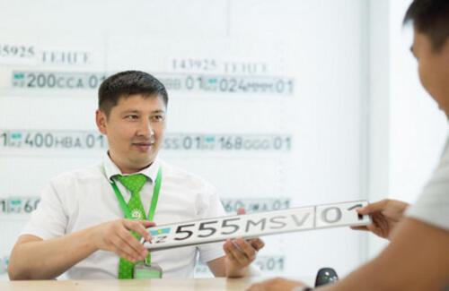Казахстанцы теряют интерес к VIP-номерам