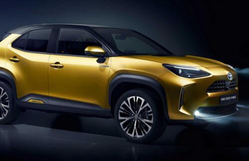 Toyota официально представила кроссовер Yaris Cross