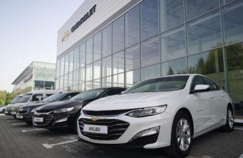 Объявление о старте продаж автомобилей CHEVROLET отечественного производства 