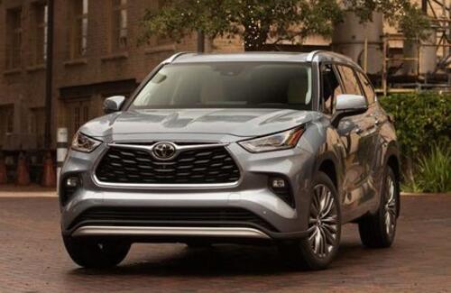 Новый Toyota Highlander скоро в Казахстане
