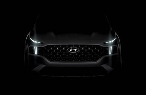 Hyundai раскрыла внешность нового Santa Fe