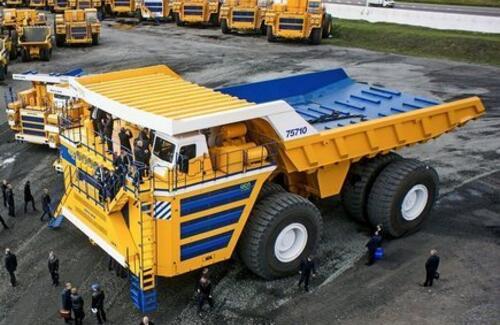 В Беларуси сделали самый большой в мире автомобиль