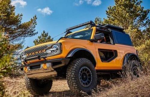 Ford представил долгожданный рестайлинговый внедорожник Bronco