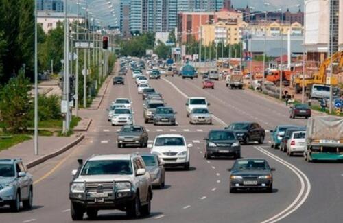В столице меняют организацию дорожного движения
