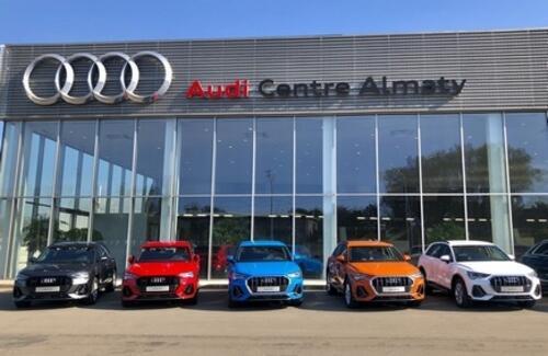 AUDI расширяет модельный ряд в Казахстане