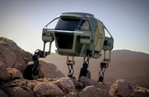 Hyundai создаст шагающий автомобиль