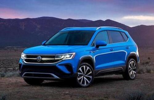 Volkswagen показал новый кроссовер Taos