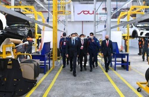 Производство автомобилей Kia стартовало в Костанае