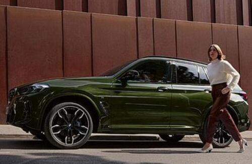 BMW раскрыла дизайн обновленного X3