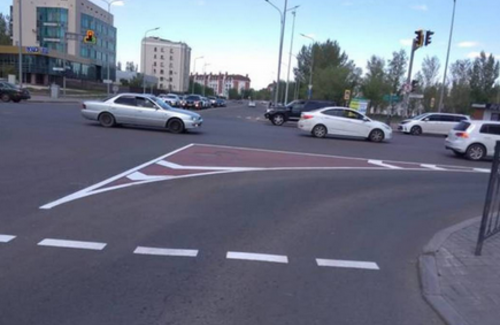 Организацию дорожного движения меняют в Нур-Султане